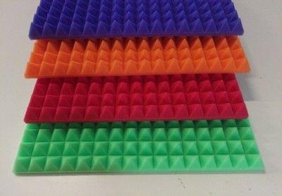 WYGŁUSZENIE GĄBKA PIANKA AKUSTYCZNA 50 x 50 x 4 cm