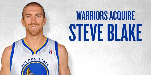 PRESS RELEASE: Warriors Acquire Guard Steve Blake From Los Angeles Lakers