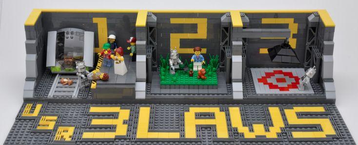 Lego Three Laws of Robotics - Good Rules!