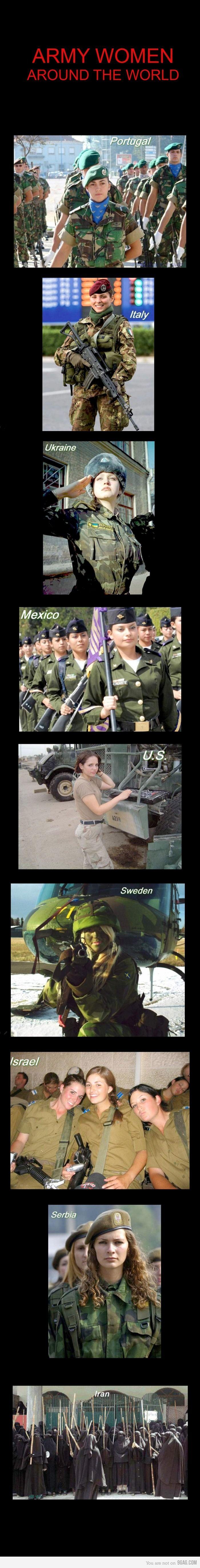 Army Women...Like a BOSS.