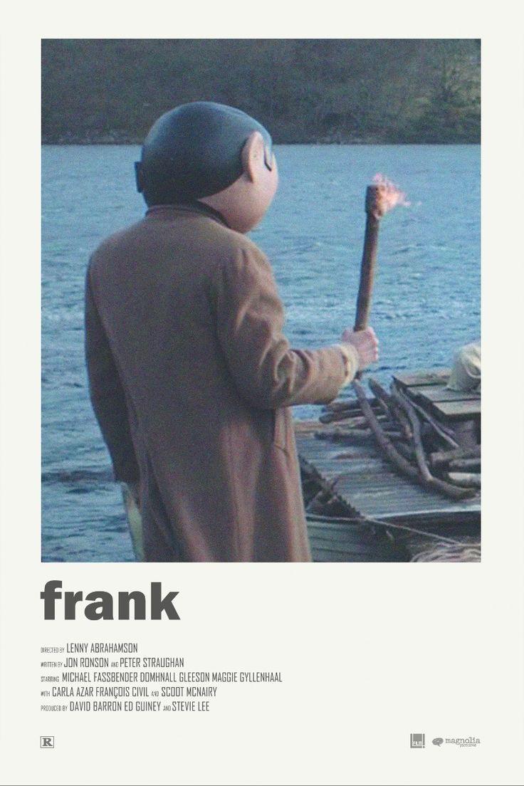 Frank alternative movie poster Visit my Store