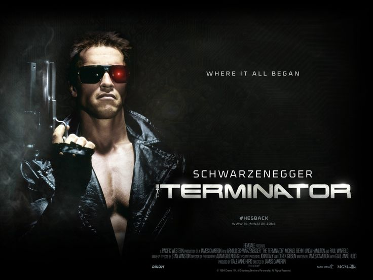 Poster Image Starring: Arnold Schwarzenegger, Michael Biehn, Linda Hamilton, Paul Winfield Directed by: James Cameron Distributed by: Orion Pictures. Release Date: October 26 1984. The Terminator Trailer was last modified: February 13th, 2016 by Kaarle Aaron