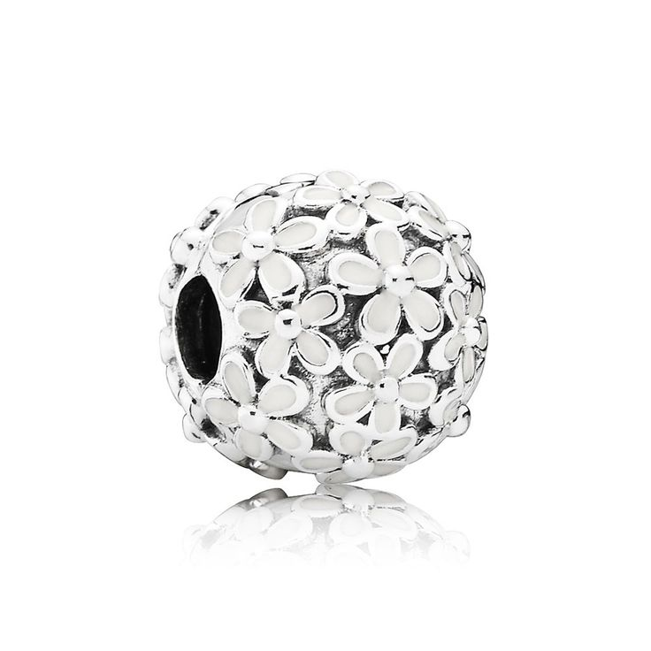 Pandora Darling Daisy Meadow Clip Charm 791494EN12