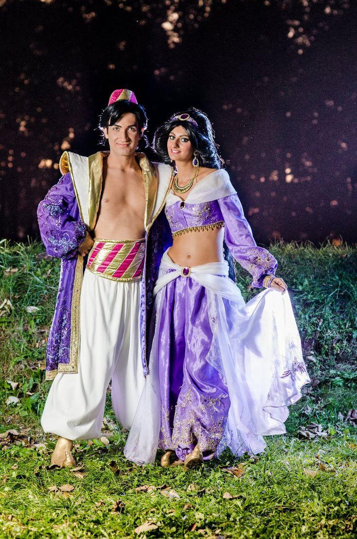 Prince Aladdin and Princess Jasmine Cosplay byGF by GFantasy92.deviantart.com on @deviantART