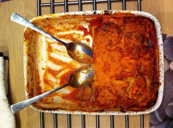 Lasagne Met Lasagne Zalm, Pesto En Courgette recept   Smulweb.nl