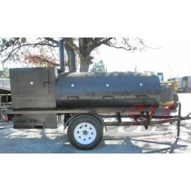 NEW 12.5'' CHARCOAL COOKER BBQ WOOD SMOKER GRILL FOOD COOKOUT TRAILER