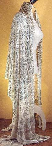 Art Deco Look 74 best art deco shawls/wraps/stolas images on pinterest