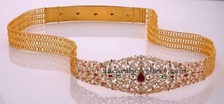 Jewellery Designs: Unique and Elegant Odiyanam