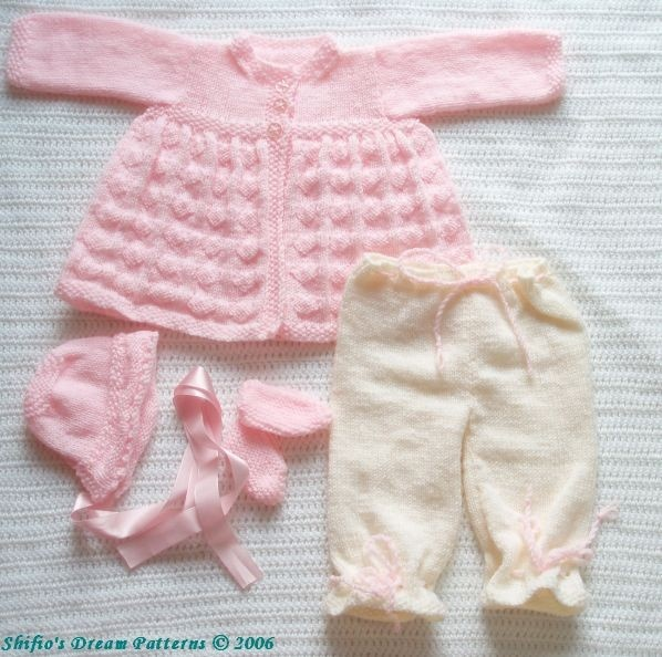 PATTERN in PDF Knitting Pattern Patterns Boy Girl Baby Jacket Reborn 29. $3.99, via Etsy.