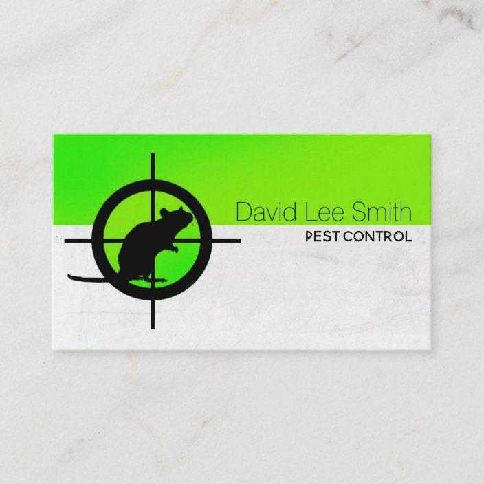 Pest Control Business Card Zazzle Com In 2021 Pest Control Best Pest Control Pests