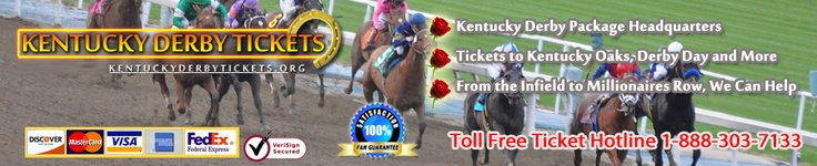 "2013 Kentucky Derby Tickets    Churchill Downs in Louisville, KY is the proud host of the annual Kentucky Derby on May 3 & 4, 2013. Three year old colts from around the world compete for the ""Run For The Roses"", who will be the winner of this years most exciting two minutes in sport?"