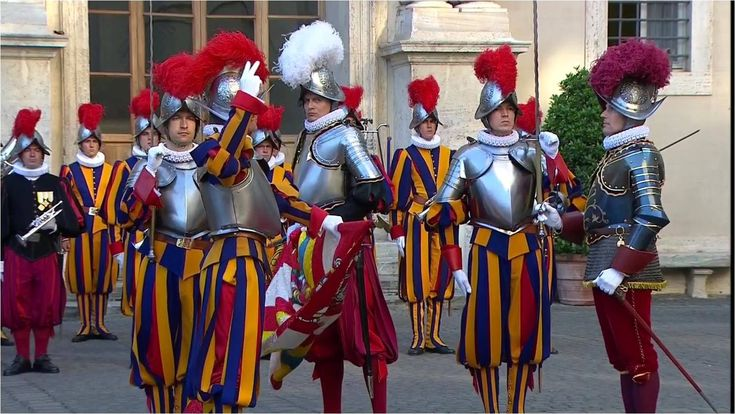 Solemn Oath Ceremony of the Pontifical Swiss Guard 6 May 2016 HD
