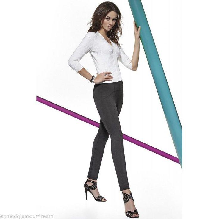 Legging Tregging pantalon moulant noir mode femme sexy BAS BLEU LEXI T: 2-3-4