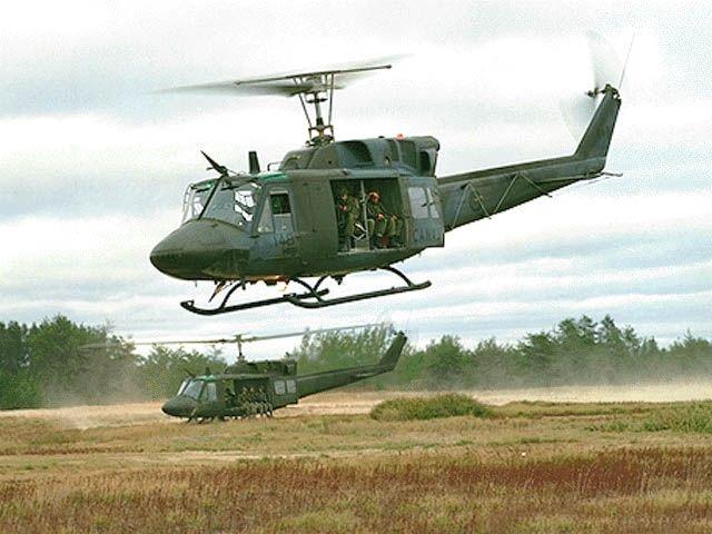 Uh-1V Huey Helicopter
