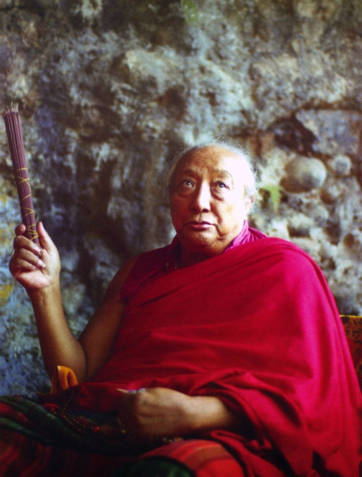"""Sole father ~ Dilgo Khyentse Rinpoche http://justdharma.com/s/41ewo  The ultimate teacher, the absolute, is never separate from us,  Yet immature beings, not recognizing this,   look outside and seek him far away,  Sole father, with your immense love   you have shown me my own wealth;  I, who was a pauper,  constantly feel your presence in the depth of my heart.  – Dilgo Khyentse Rinpoche  quoted in the book """"In the Presence of Masters: Wisdom from 30 Contemporary Tibetan Buddhist Teachers""""…"""