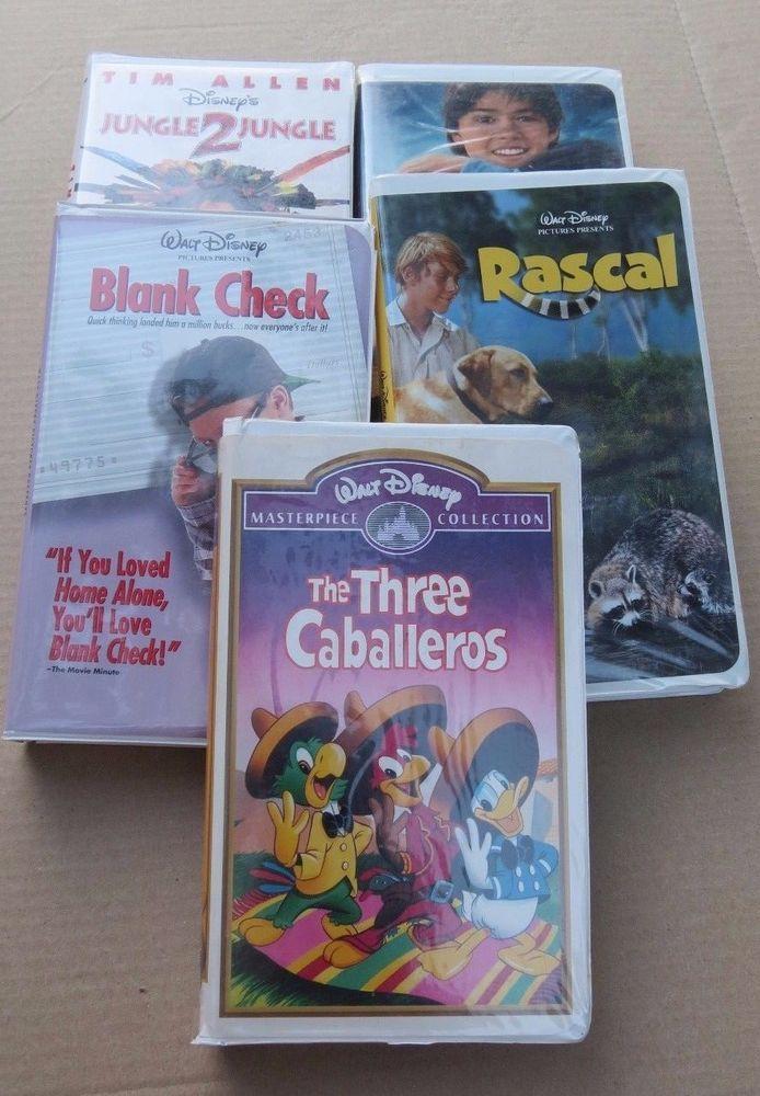 WALT DISNEY VHS TAPES ~ VARIOUS TITLES ~ YOU CHOOSE 1 or ALL ~ 1+ SHIPPING  #DISNEY