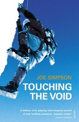 Book 12- Touching The Void by Joe Simpson. Finished May 20, 2016