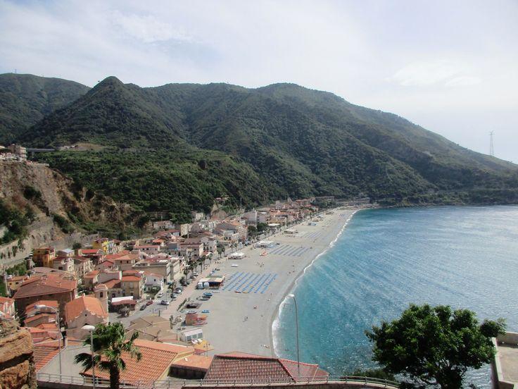 Tyrhénské moře - Scilla - Kalábrie - Itálie