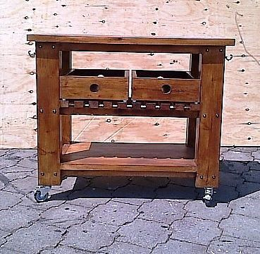 Braai Trolley Chunky Cottage series - Stained   Brakpan   Gumtree South Africa   124386556