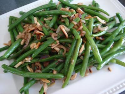 Green Beans w/Almonds