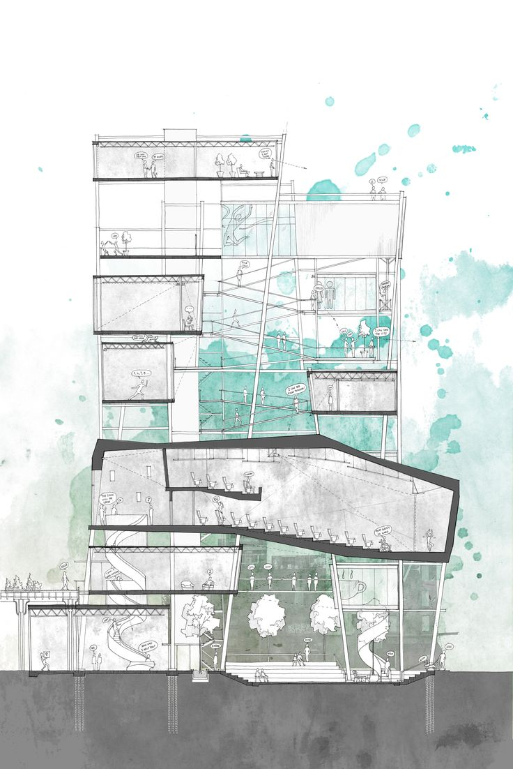 Anne Ma, nice section drawing