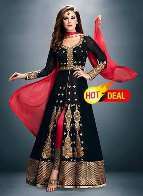 Buy latest Salwar kameez online with huge patterns, designs and colors. Enjoy 70% discount on salwar kameez with Free shipping worldwide.