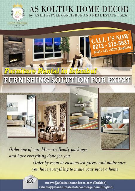 AS Lifestyle Concierge and Real Estate Services Ltd. Sti.: Furniture Rental in Istanbul