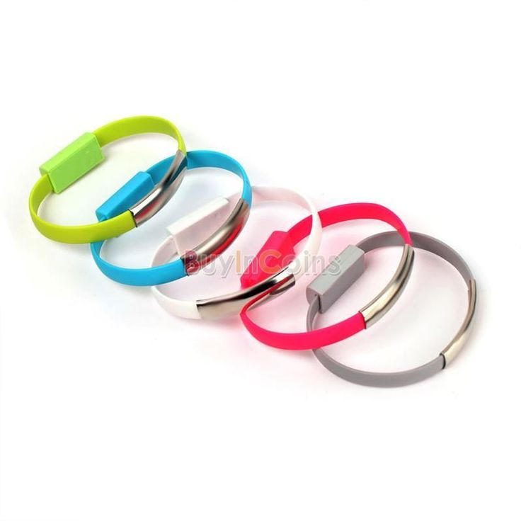 Bracelet 2.0 Sync Data Charging Micro USB Cable Cord for Galaxy 4 S3