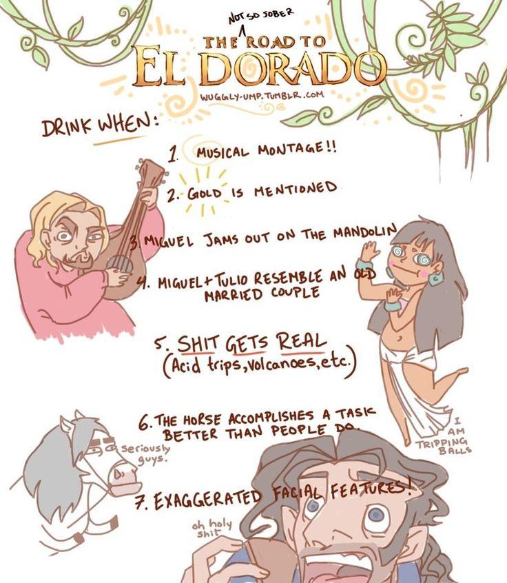 A not-so-sober road to El-Dorado