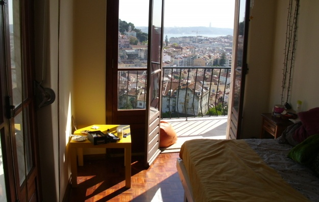 Beautiful views from an apartment in #Lisbon