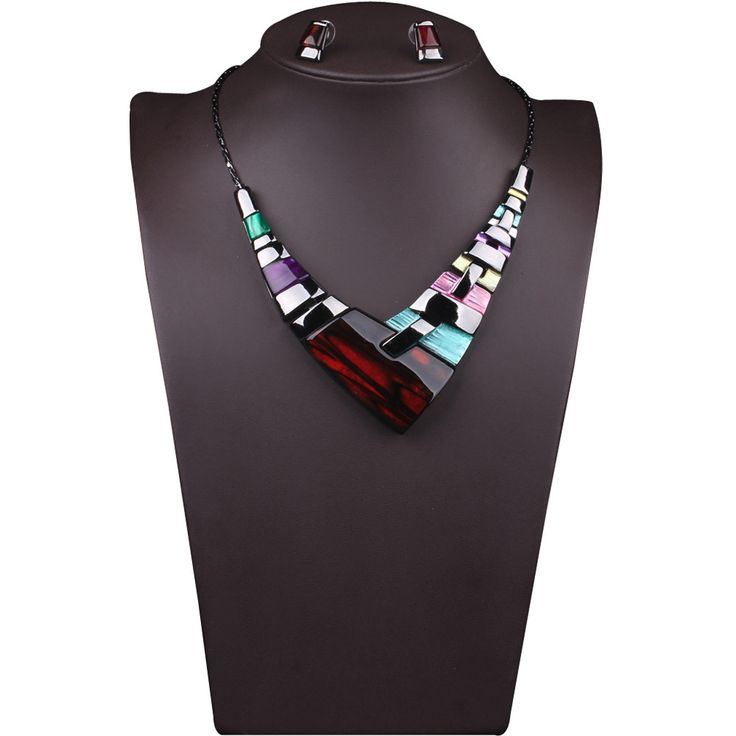 Mance 1 Set luxury Jewelry Pendant Chain Women Multiple Splice Alloy Resin Necklace Fashion Pendants Gift 2016 Hot Sale -in Power Necklaces from Jewelry on Aliexpress.com | Alibaba Group