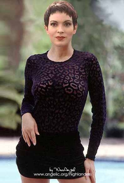 Elizabeth Gracen. Amanda from Highlander.