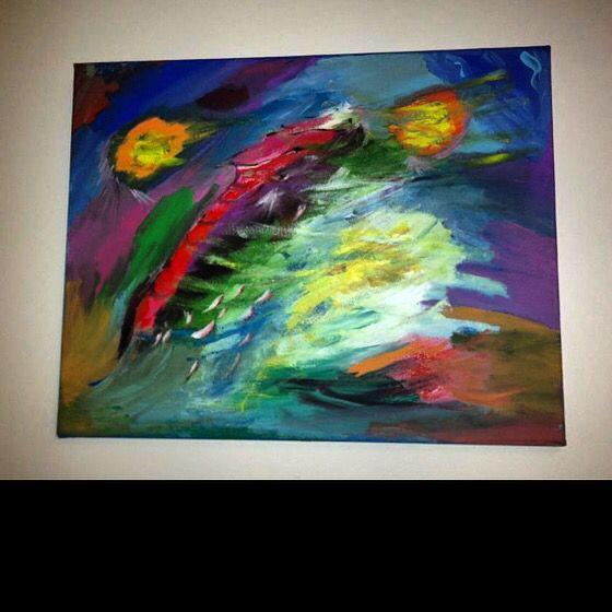 Power Acrylic Painting