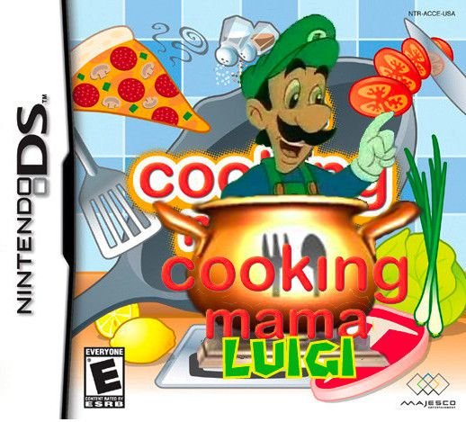 Mama Luigi's New Game by KojinkaLuigiGodzilla.deviantart.com on @deviantART