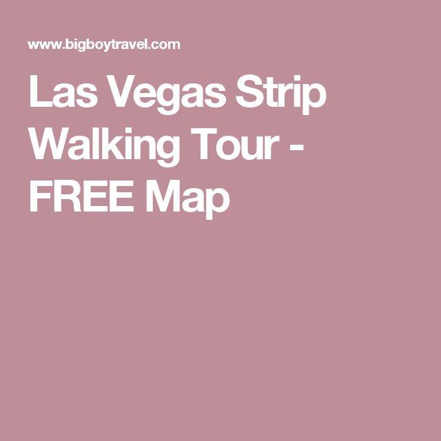 Las Vegas Strip Walking Tour - FREE Map