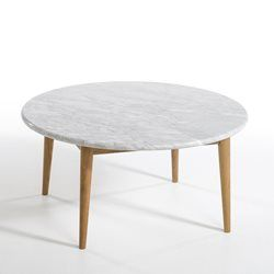 Table basse Béate-Marmora, plateau marbre AM.PM