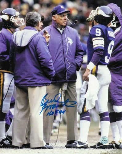 Image detail for -Bud Grant Autographs | Sports, Football