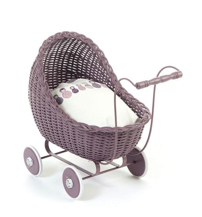 Small Stuff Dolls Stroller - Dark Rose - Josh & Jenna | Nursery Decor and Kids Store