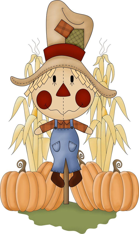 scarecrow clip art - fall