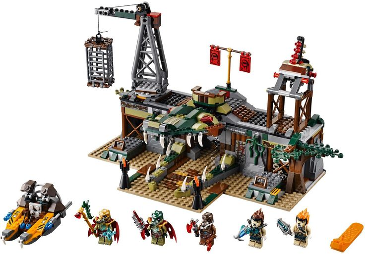 pictures of chima | of chima croc swamp hideout picture surfaces april 12 2013 lego chima ...