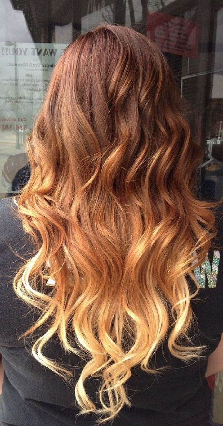 Red Ombre Hair Color Ideas - 2015 Hairstyles Trend