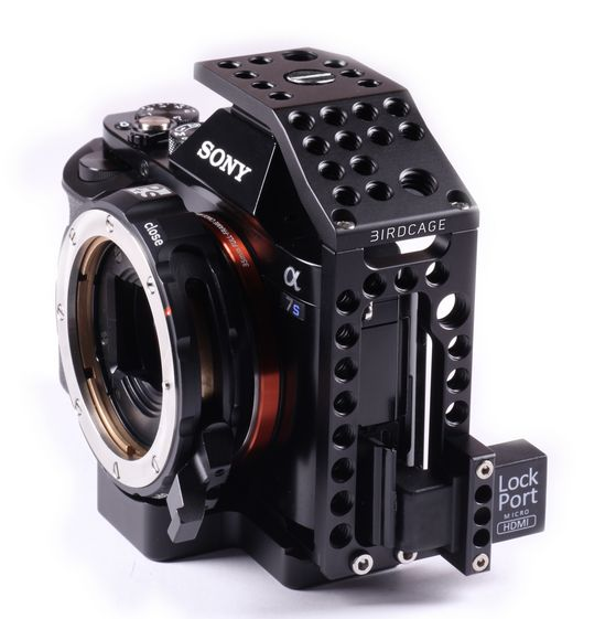 "LockCircle Announces ""BirdCage"" for the Sony A7s and Panasonic GH4"
