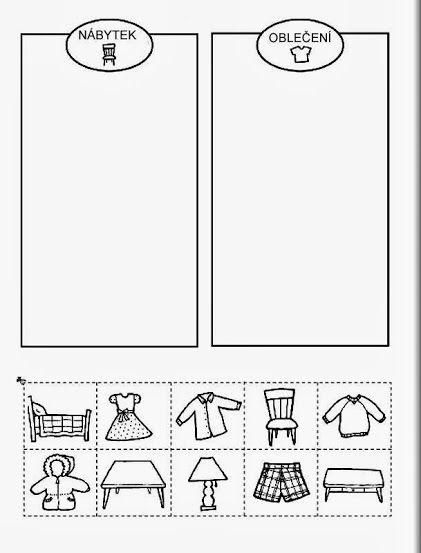 Categoriseren: meubilair-kledij