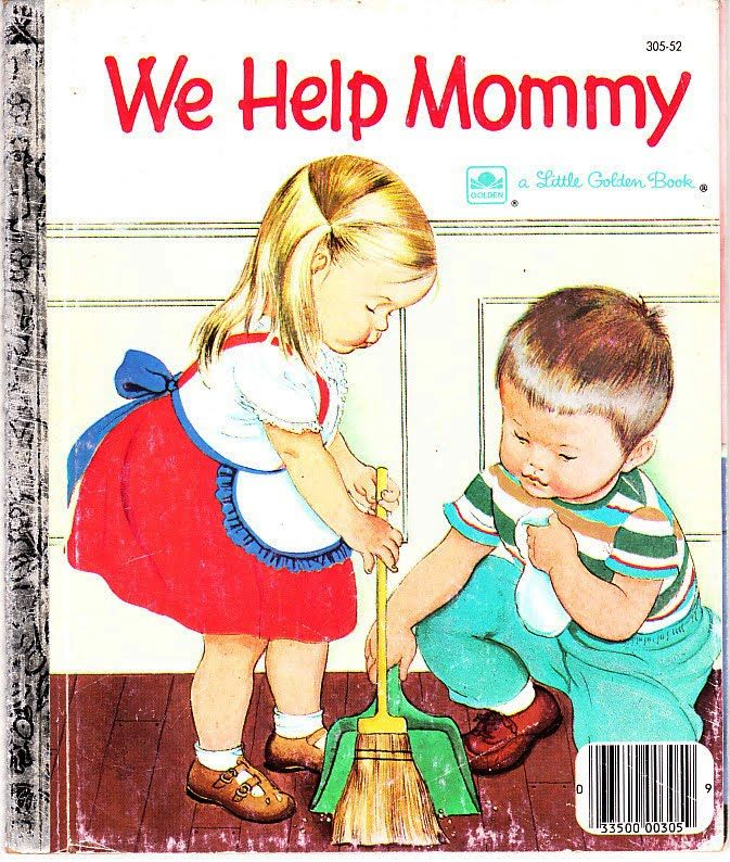 We Help Mommy- My FAV book as a child