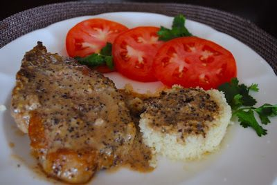 Невыразимая легкость кулинарного бытия...: Свиные отбивные с горчичным соусом