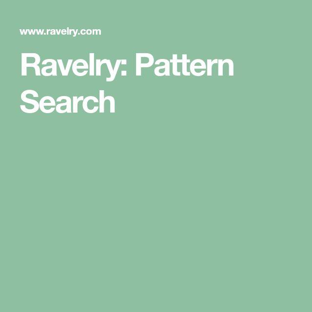 Ravelry: Stashbuster Pattern Search