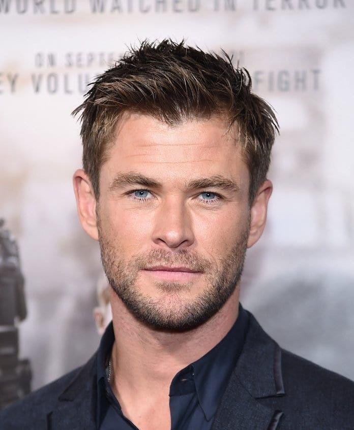 Thor New Haircut : haircut, Chris, Hemsworth, Ragnarok, Haircut, Hair,, Thor,, Haircuts, Short