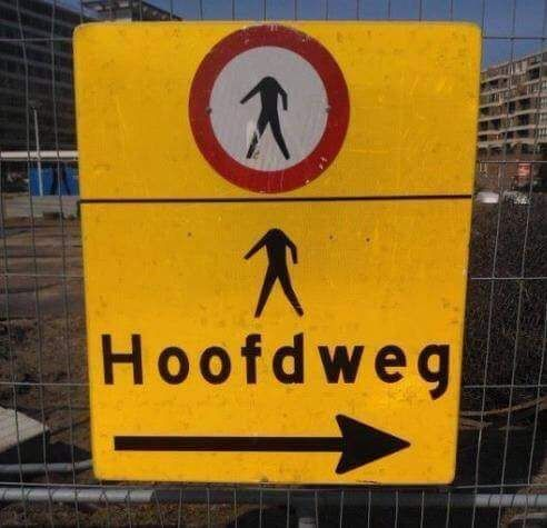 Hoofd-weg!