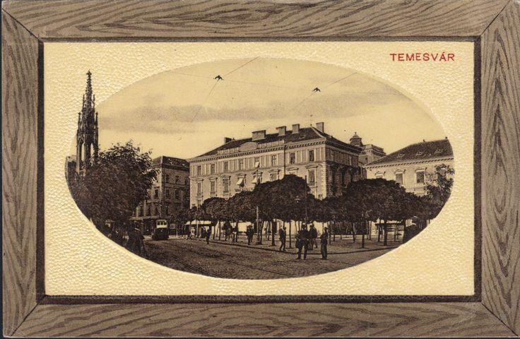 Timisoara - Piata Libertatii / Jano herczeg ter 1919  (A1-1)