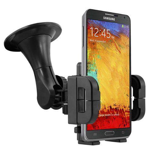 Tecnología - Soporte para automóviles para Samsung Galaxy Note 3 N9000 / N9005 -  http://tienda.casuarios.com/soporte-para-automoviles-para-samsung-galaxy-note-3-n9000-n9005-el-movil-encaja-perfectamente-en-el-soporte-con-la-carcasa-o-funda-calidad-de-kwmobile/
